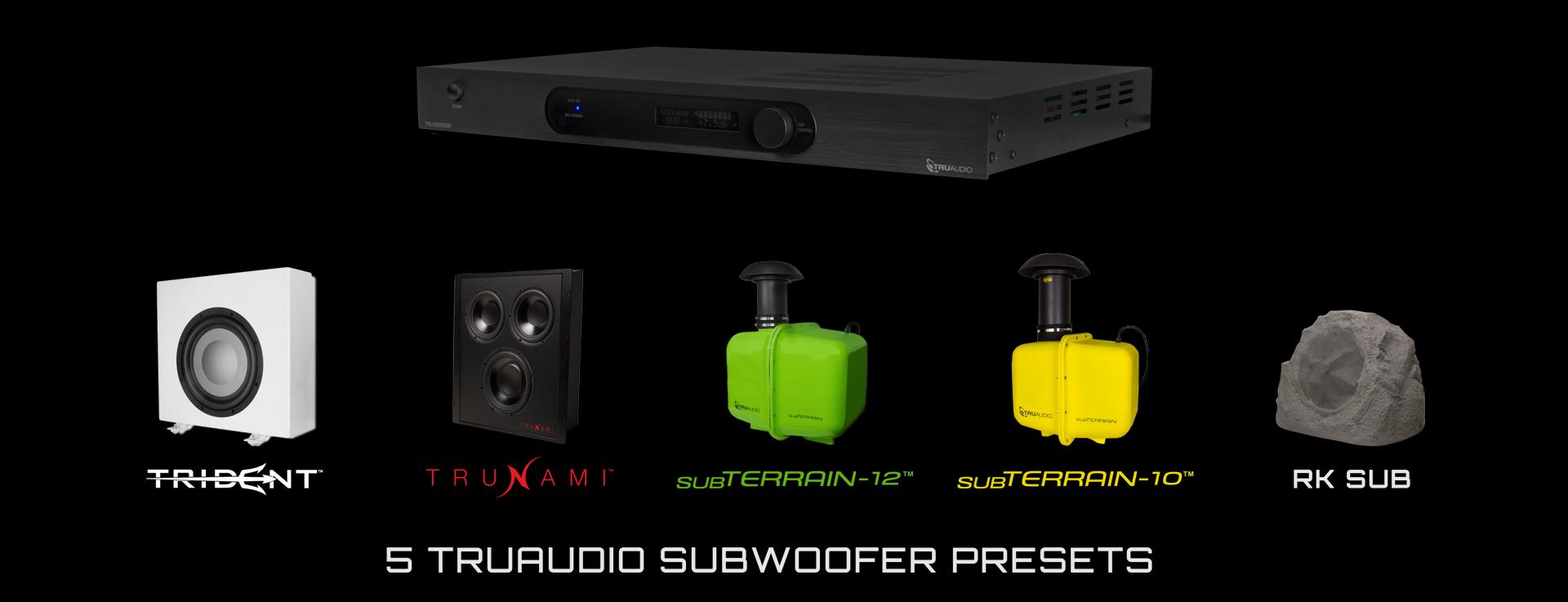 5 TruAudio Subwoofer Presets