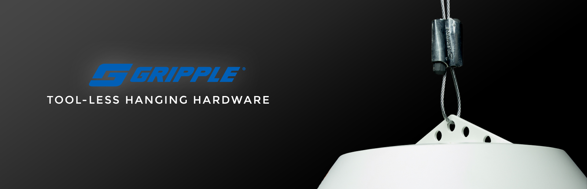 Gripple tool-less hanging hardware