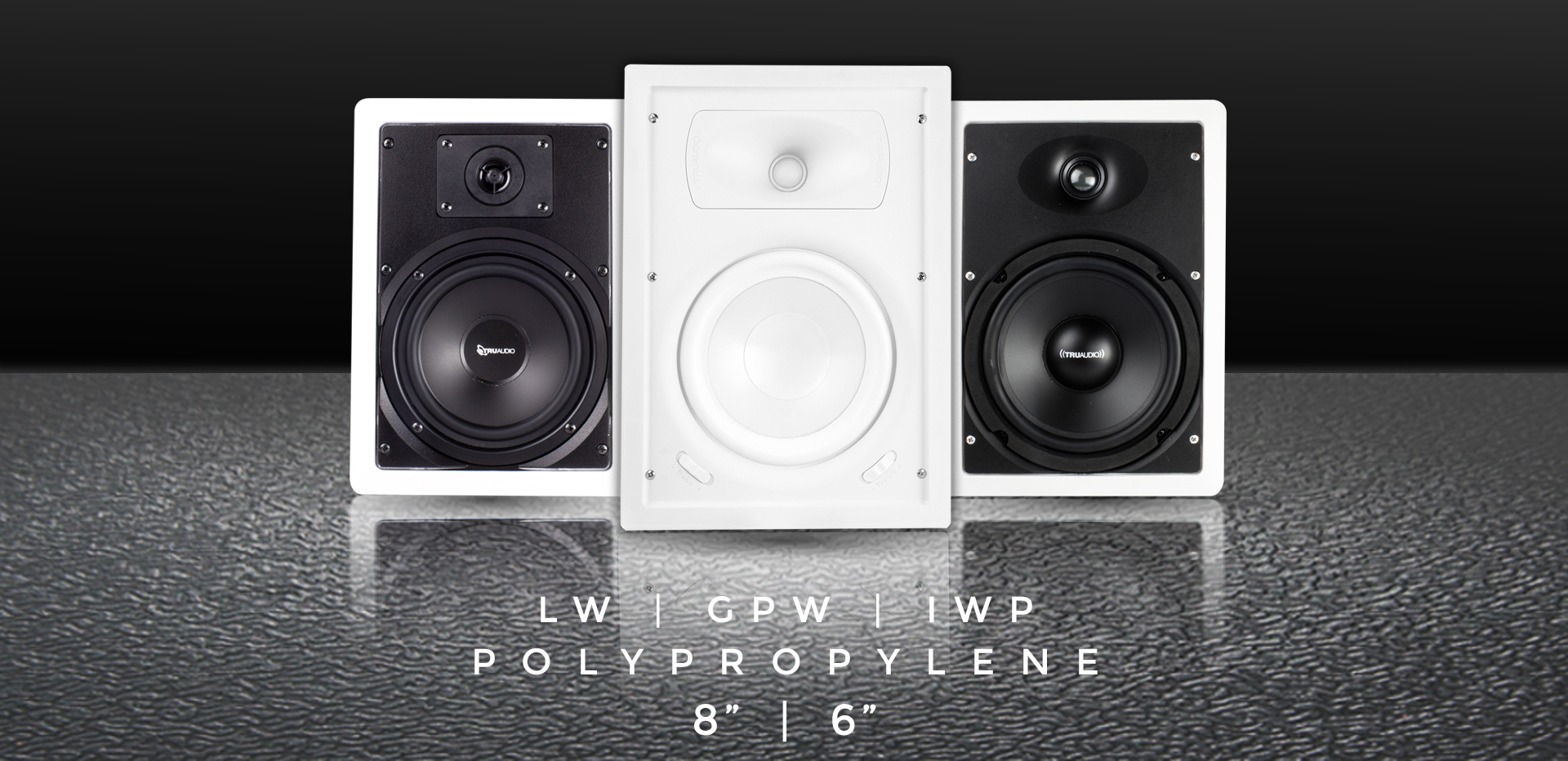In Wall Speakers by TruAudio