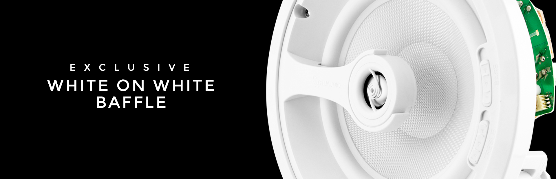 Exclusive White on White Baffles